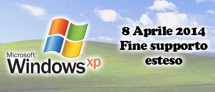 Fine del supporto a Windows XP: che cosa succede